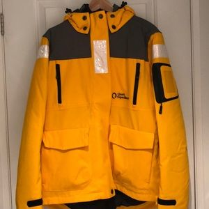 Winter Jacket with Puffer Insert